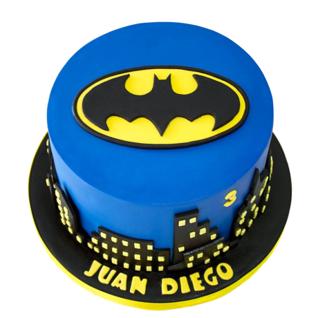 batman logo cake 2 6