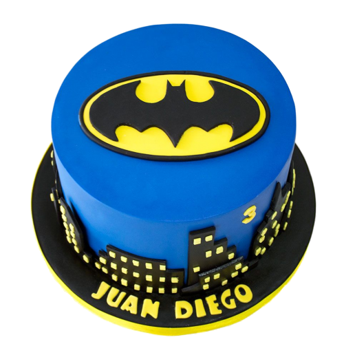 batman logo cake 2 7