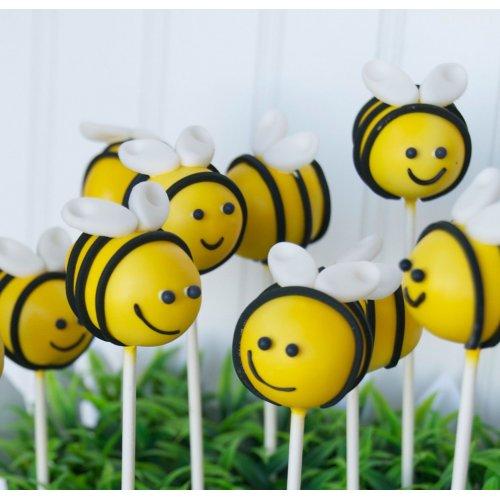 bees cake pops 7