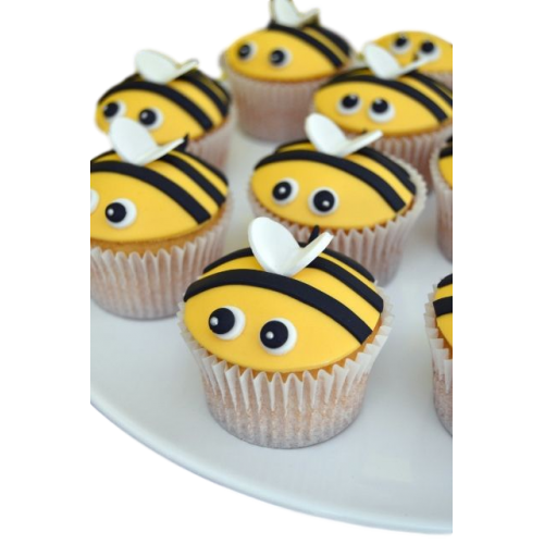 bees cupcakes 2 7