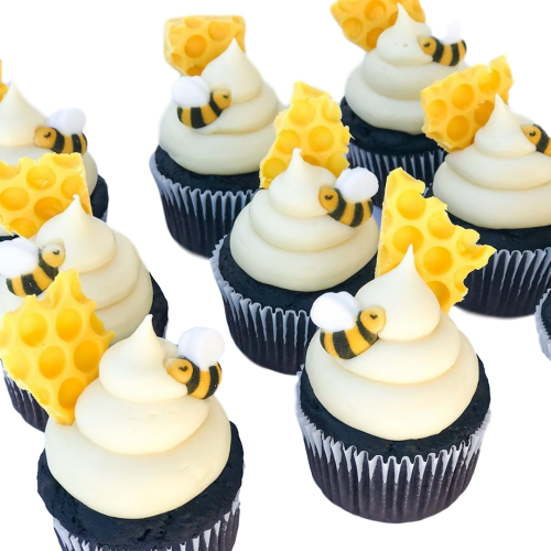 bees cupcakes 3 7