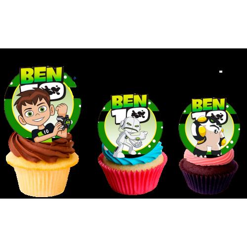 Ben 10 cupcakes 2