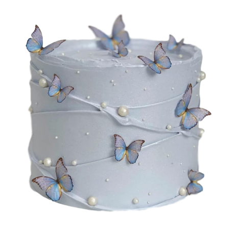 cake with butterflies 2 6