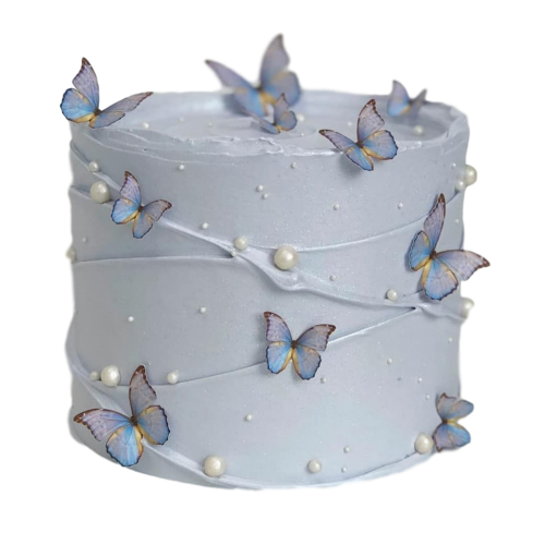 cake with butterflies 2 7