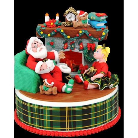 christmas cake 3 6