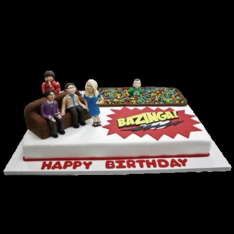 big bang theory cake 6