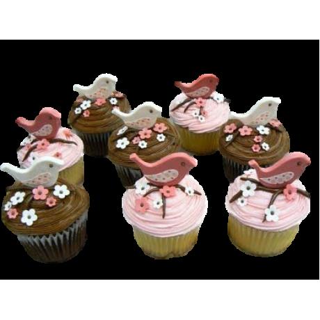 bird cupcakes 6