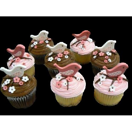 bird cupcakes 7