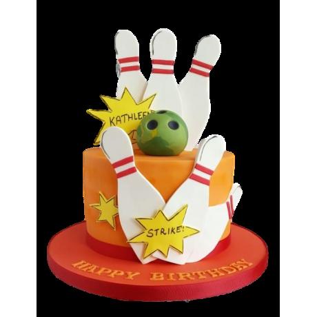 bowling cake 2 6