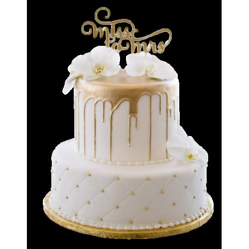 bridal shower cake 1 7