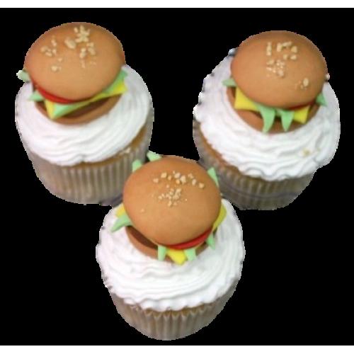 burger cupcakes 2 7