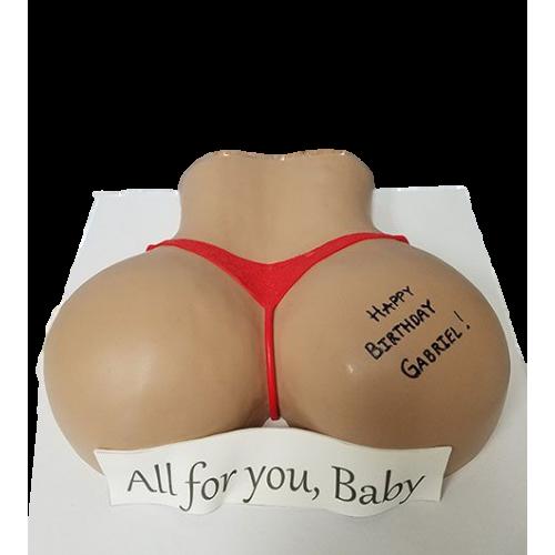 butt cake 5 7