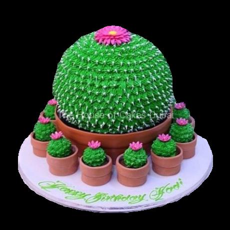 cactus cake and cupcakes 6