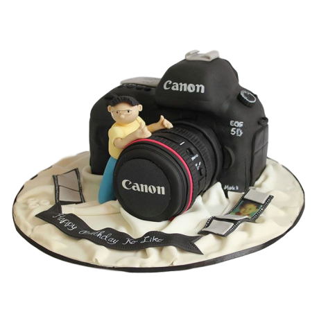 canon camera cake 2 6