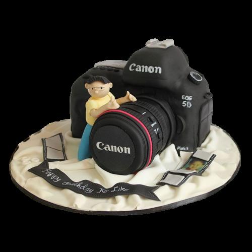 Canon Camera Cake 2
