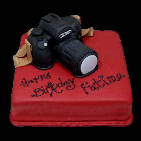 canon camera cake 3 6