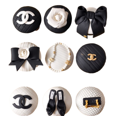 Chanel cupcakes 4