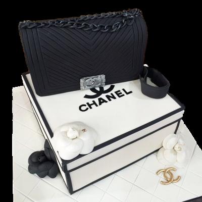 Chanel bag cake 14