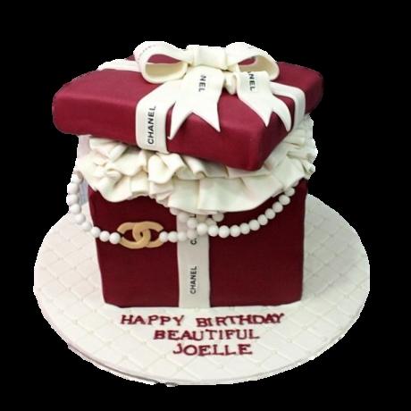 chanel box cake 2 6