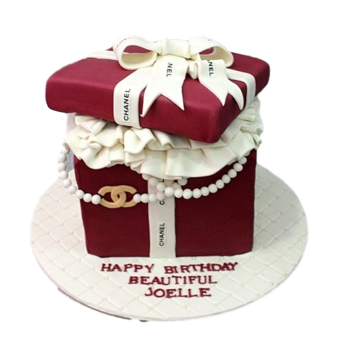 chanel box cake 2 7
