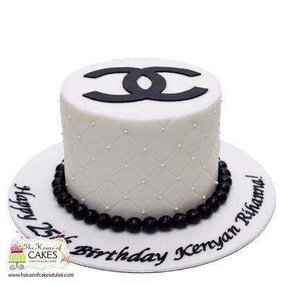 Chanel cake 3