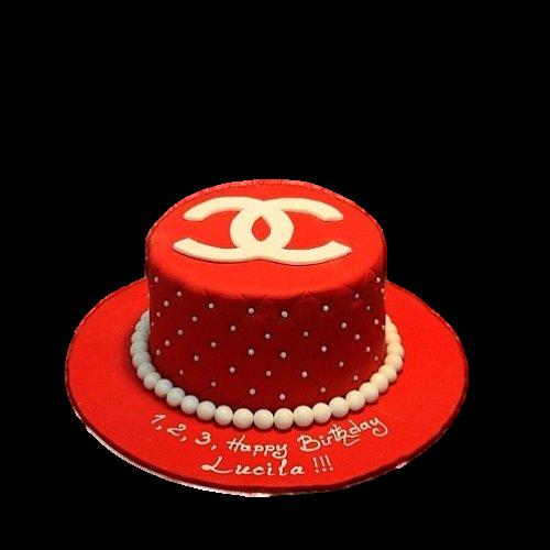 Chanel cake 4