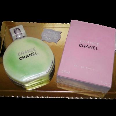 Chanel Chance perfume cake