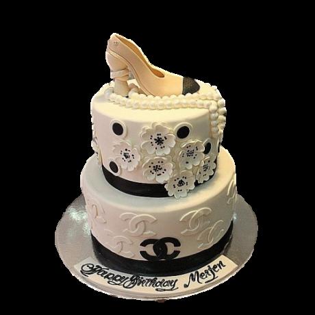 Chanel Shoe Cake 4