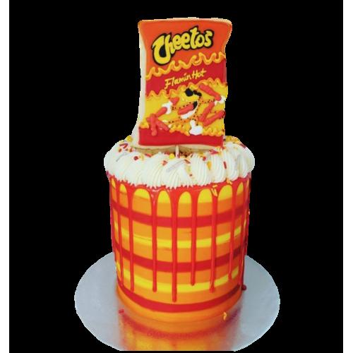 cheetos cake 7