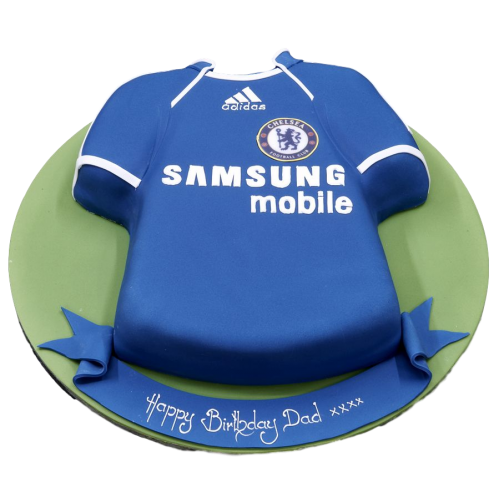 Chelsea Shirt Cake 2