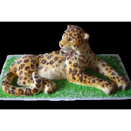 cheetah cake 6