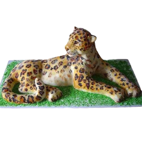 cheetah cake 7