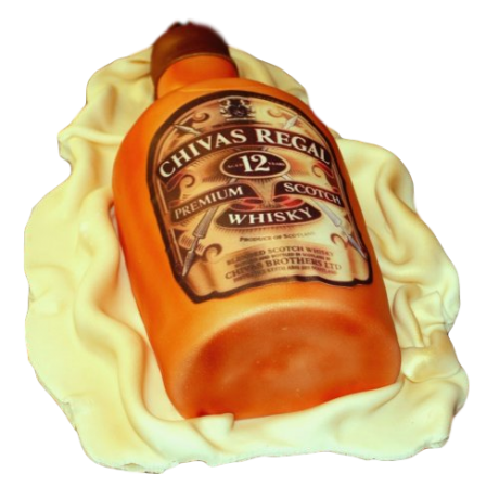 chivas regal bottle cake 6
