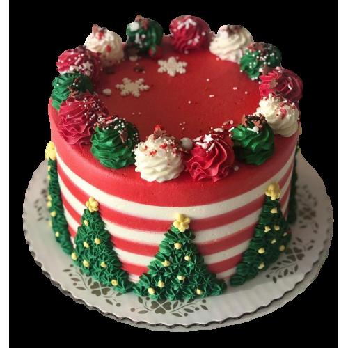 christmas cake 2 7
