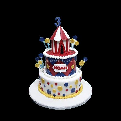 Circus cake 6