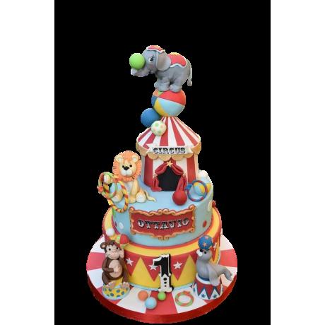 circus cake 3 6