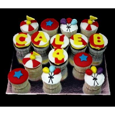 Circus cupcakes 1
