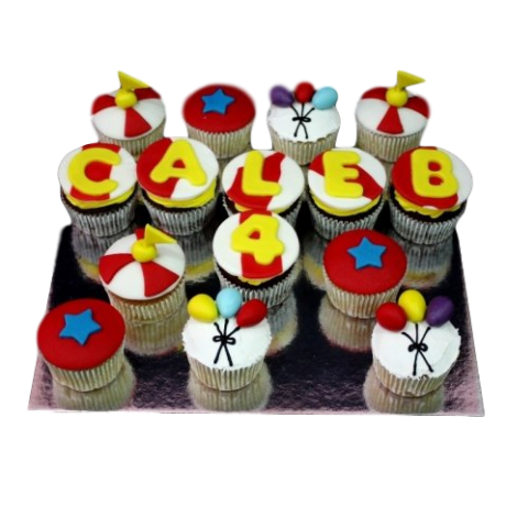 circus cupcakes 1 6