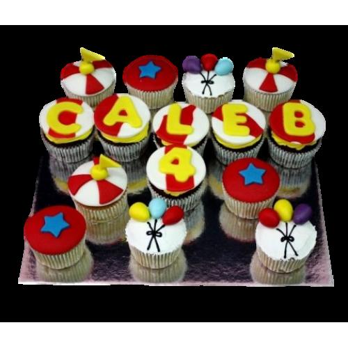 circus cupcakes 1 7