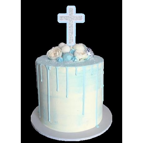 Confirmation Cross Cake