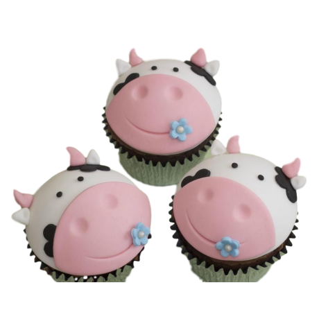 Cow cupcakes 1