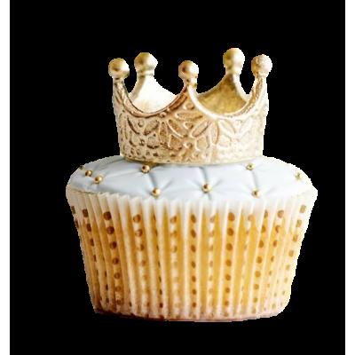 Crown cupcakes 1