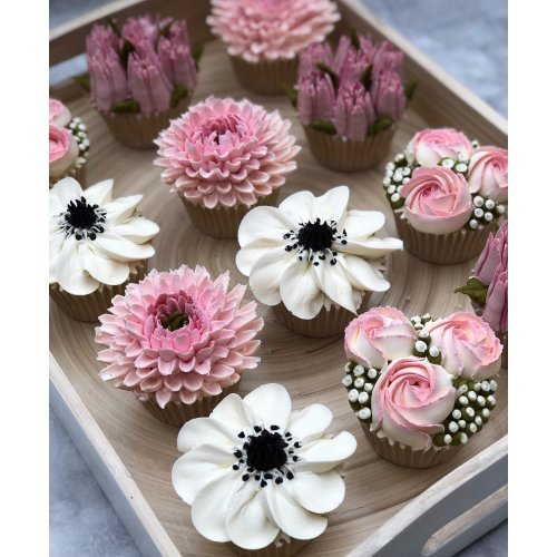 cupcakes flowers 7