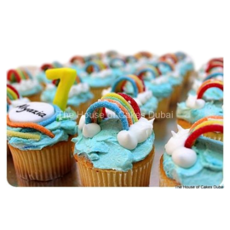 rainbow cupcakes 6
