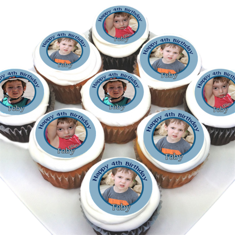 Cupcake with photo 1