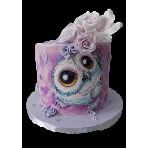 cute owls cake 11 7