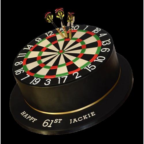 darts cake 2 7