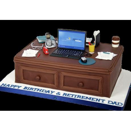 desk cake 2 6