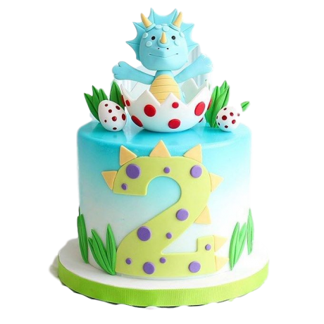 cute dinosaur cake 6