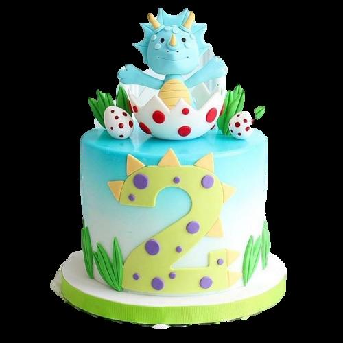 cute dinosaur cake 7